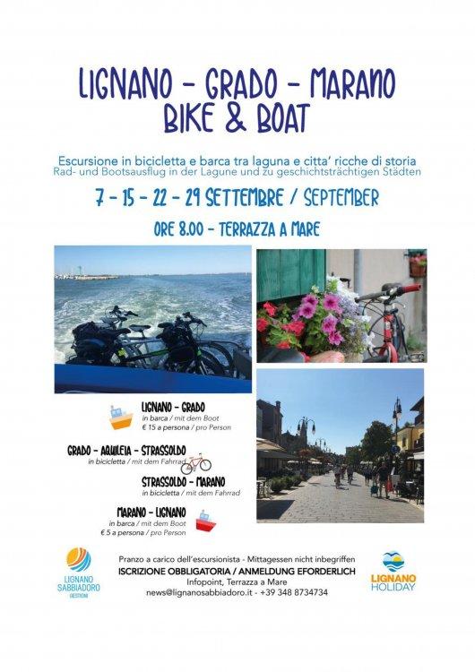 Lignano Grado Marano Bike Boat In Lignano
