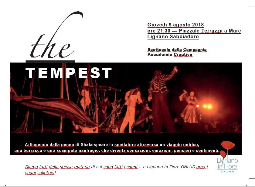 The Tempest in Lignano
