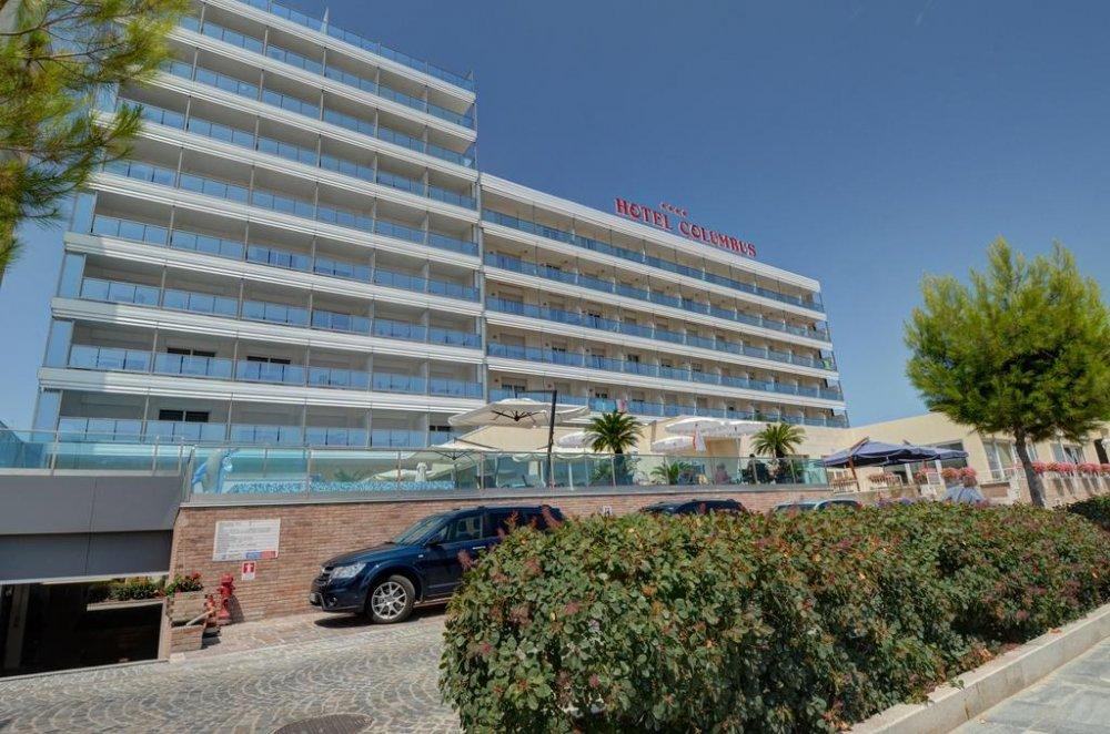 Lignano Hotel Columbus 4 Star In Sabbiadoro