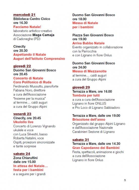 Natale D A Mare 2016 Christmas Events à Lignano